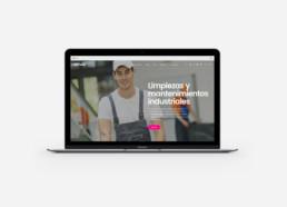 Limpiezas Barmanet - diseño web