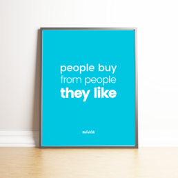 people buy from people they like
